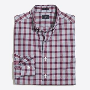 J. Crew Slim Plaid Shirt